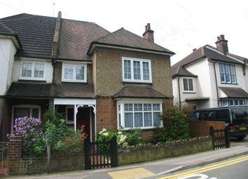 Thumbnail 4 bed semi-detached house to rent in Glenbuck Road, Surbiton