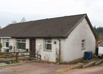 Thumbnail 3 bedroom semi-detached bungalow for sale in Wilson Road, Lochgilphead