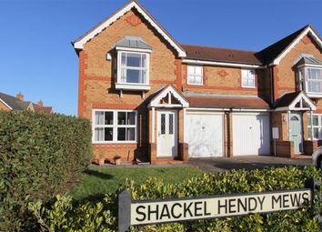 Thumbnail 3 bed semi-detached house for sale in Shackel Hendy Mews, Emersons Green, Bristol