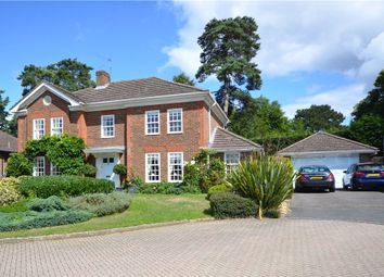 Thumbnail 5 bed detached house for sale in Fairway Heights, Camberley, Surrey