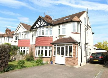 Thumbnail 4 bed semi-detached house for sale in Chalkwell Park Avenue, Enfield, Middx