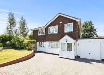 Thumbnail 4 bed detached house for sale in The Driftway, Nork, Banstead
