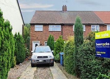 Thumbnail 3 bedroom terraced house for sale in Rosedale Grove, Hull