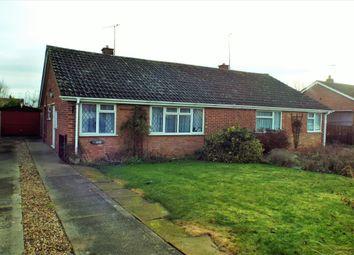 Thumbnail 2 bed bungalow for sale in Washington Road, Wickhamford, Evesham