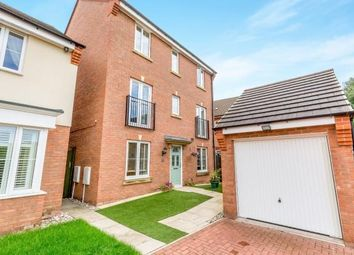 Thumbnail 4 bedroom detached house for sale in Thruxton Place, Rugby