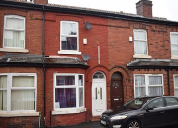 Thumbnail 2 bedroom terraced house for sale in Parkfield Avenue, Rusholme, Manchester