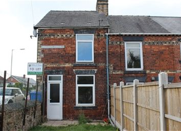 Thumbnail 2 bed property to rent in Cemetery Terrace, Brimington, Chesterfield, Derbyshire