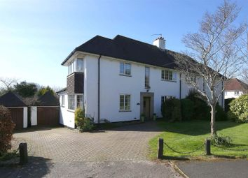Thumbnail 4 bed semi-detached house for sale in The Rise, Llanishen, Cardiff