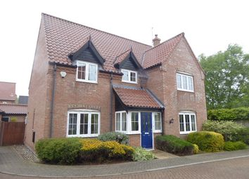 Thumbnail 4 bed detached house to rent in Shire Close, Hemsby, Great Yarmouth