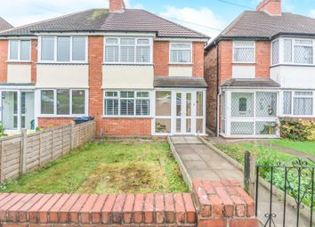 Thumbnail 3 bed semi-detached house for sale in Priory Road, Hall Green, Birmingham