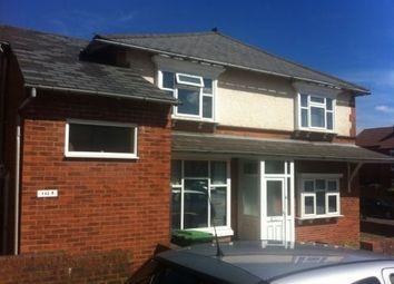 Thumbnail 1 bed flat to rent in Park Road, Bearwood, Birmingham