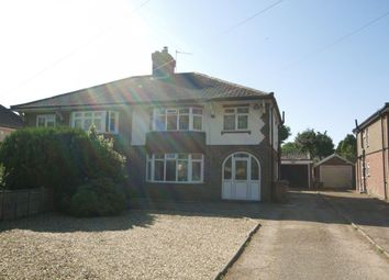 Thumbnail 3 bed semi-detached house for sale in Plumstead Road East, Thorpe St Andrew, Norwich