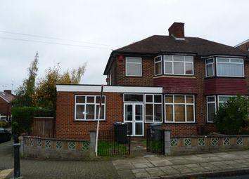 Thumbnail 4 bedroom semi-detached house to rent in Girton Avenue, Kingsbury