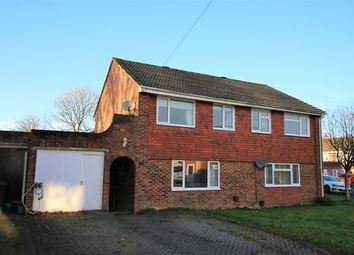 Thumbnail 3 bed semi-detached house for sale in Braemar Drive, Oakley, Basingstoke