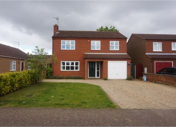 Thumbnail 4 bedroom detached house for sale in Earl Close, King's Lynn