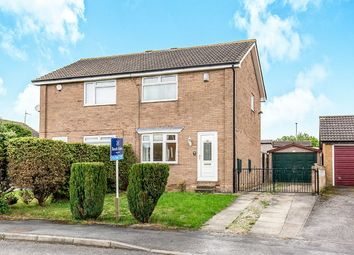 Thumbnail 2 bed semi-detached house for sale in Barnard Way, Leeds