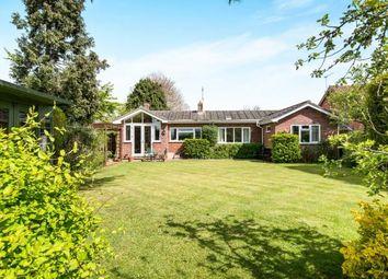 Thumbnail 4 bed bungalow for sale in Surlingham, Norwich, Norfolk