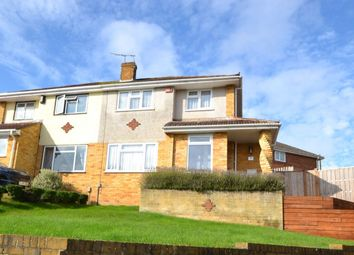 Thumbnail 3 bed semi-detached house for sale in Sussex Drive, Walderslade, Chatham
