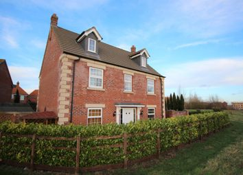 Thumbnail 5 bed detached house for sale in Delacorte Green, Spalding