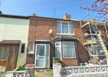 Thumbnail 2 bed terraced house for sale in Garden Road, Folkestone