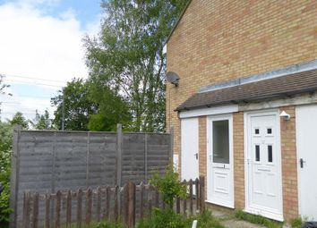 Thumbnail 1 bed detached house to rent in Hawesmere Close, Biggleswade