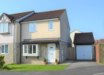 Thumbnail 3 bed semi-detached house for sale in Pippin Close, Peasedown St. John, Bath