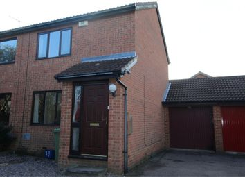 Thumbnail 2 bed semi-detached house to rent in Sullivan Crescent, Browns Wood, Milton Keynes
