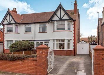 Thumbnail 4 bed semi-detached house for sale in Stretton Drive, Southport, Merseyside