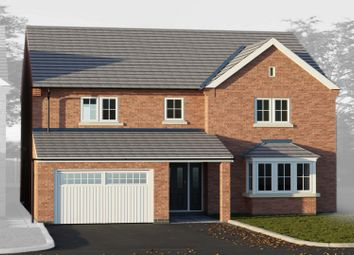 Thumbnail 4 bed detached house for sale in Thorpe Downs Road, Church Gresley