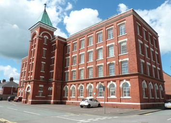 Thumbnail 2 bed flat for sale in Waterloo Mill, Leek, Staffordshire