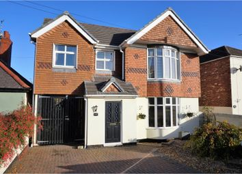 Thumbnail 5 bedroom detached house for sale in Creswell Road, Clowne, Chesterfield