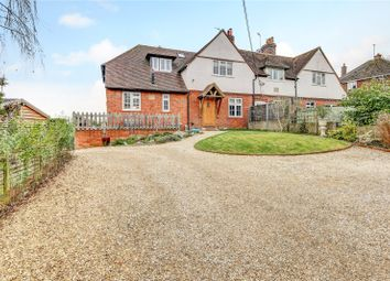 Thumbnail 4 bed semi-detached house for sale in Malta Cottages, Ashmore Green, Thatcham, Berkshire