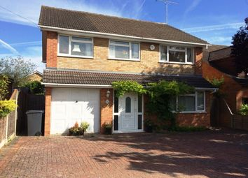 Thumbnail 5 bed detached house to rent in Macdonald Road, Lightwater