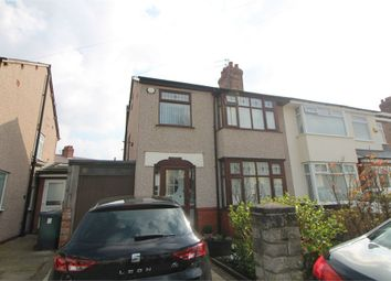 Thumbnail 3 bed semi-detached house for sale in Glenby Avenue, Crosby, Merseyside