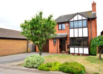 Thumbnail 4 bedroom detached house for sale in Nottingham Way, Dogsthorpe, Peterborough