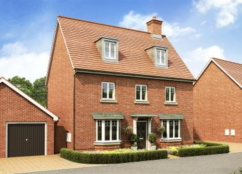 Thumbnail 5 bed detached house for sale in Kingsbrook, Broughton Crossing, Broughton, Aylesbury