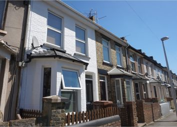 Thumbnail 2 bed terraced house to rent in Rochester Avenue, Rochester