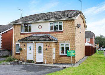 Thumbnail 2 bed semi-detached house for sale in Parc Tyn-Y-Waun, Llangynwyd, Maesteg