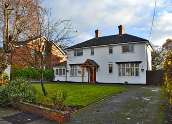 Thumbnail 5 bed detached house for sale in Newtons Lane, Sandbach