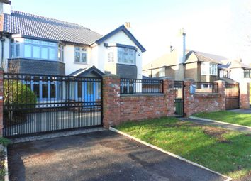 Thumbnail 5 bed semi-detached house for sale in Queens Drive, Wavertree, Liverpool