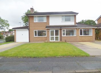 Thumbnail 4 bed detached house for sale in Mapplewell Crescent, Great Sankey, Warrington