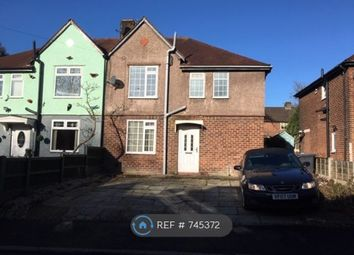 Thumbnail 3 bed semi-detached house to rent in East Central Drive, Manchester