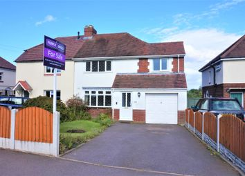 Thumbnail 4 bed semi-detached house for sale in Cartersfield Lane, Stonnall, Walsall