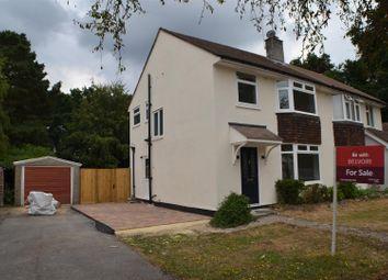 Thumbnail 3 bed semi-detached house for sale in Portway, Baughurst, Tadley