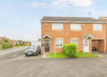 Thumbnail 2 bed semi-detached house for sale in Bradgate Croft, Hasland, Chesterfield