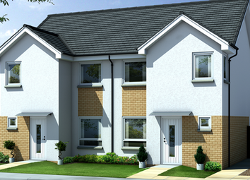 Thumbnail 3 bed semi-detached house for sale in Kirn Gardens, Gourock