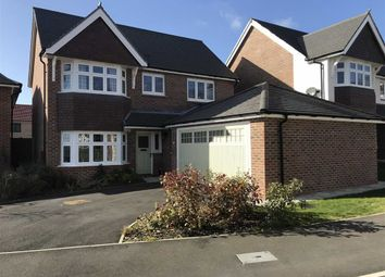 Thumbnail 4 bed detached house for sale in Knowle Hill Close, Buckley