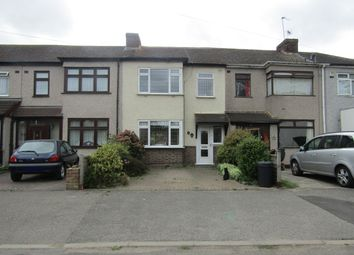 Thumbnail 3 bed terraced house for sale in Castle Avenue, South Hornchurch