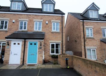 Thumbnail 3 bed terraced house for sale in Harley Head Avenue, Lightcliffe, Halifax