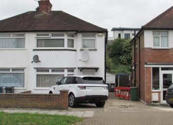Thumbnail 3 bed semi-detached house to rent in Twyford Road, South Harrow, Middlesex